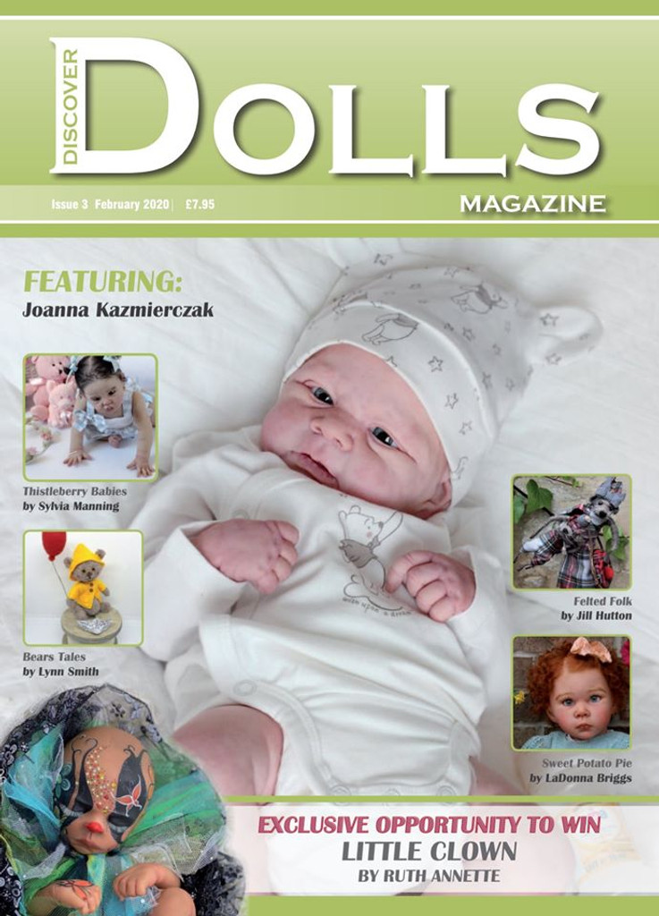 Discover Dolls Magazine Issue 3 January 2020