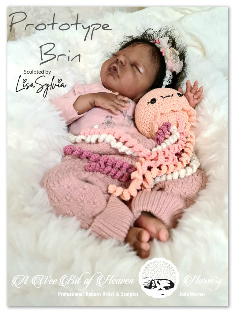 Brin Reborn Vinyl Doll Kit by Lisa Sylvia