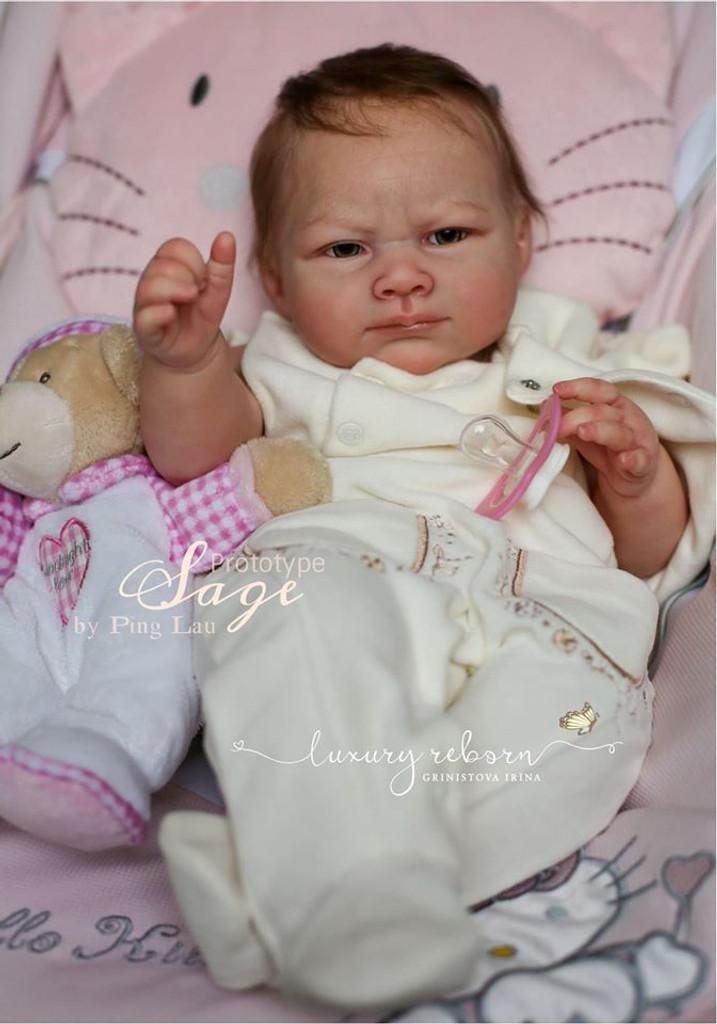 Sage Reborn Vinyl Doll Kit by Ping Lau