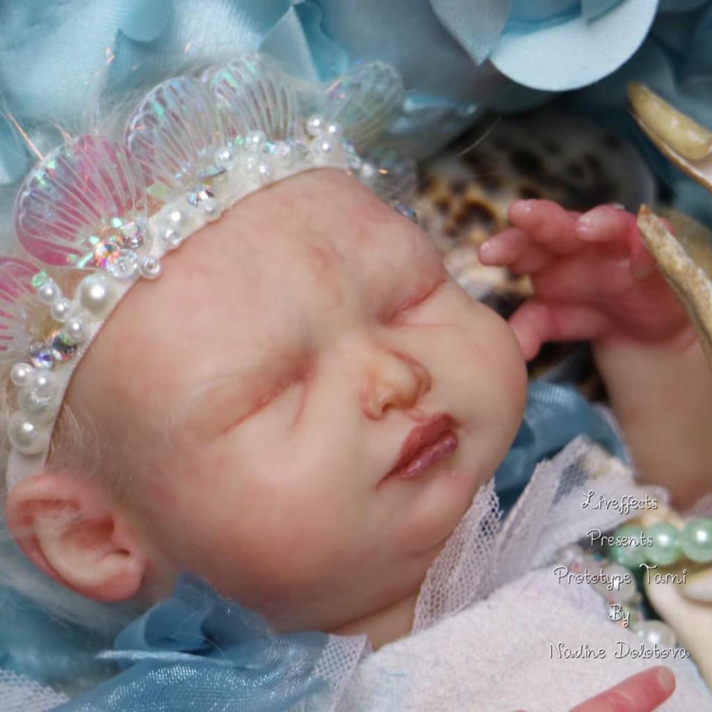 Tarni the Mermaid Reborn Vinyl Doll Kit by Nadezda Dolotova