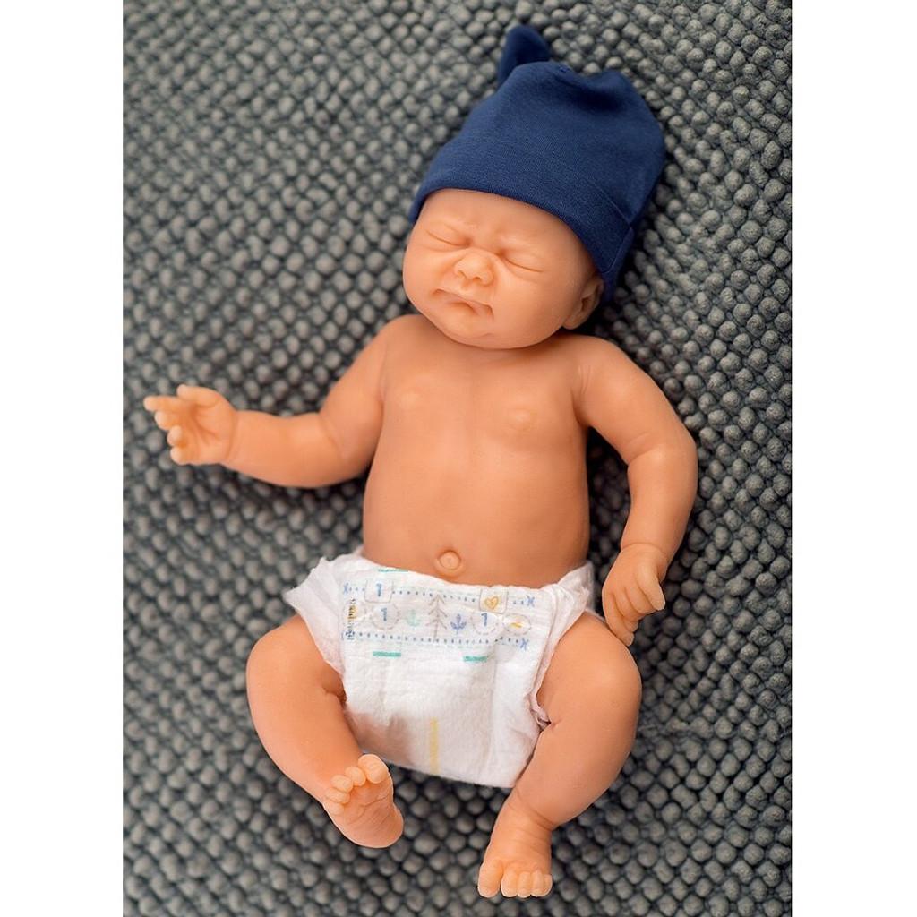 Fiete by Elisa Marx Silicone Full Body Boy Doll Kit Unpainted