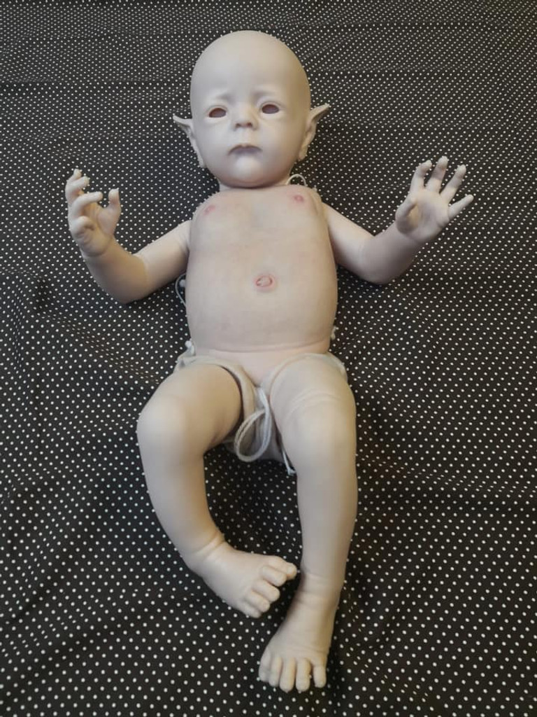 Fred Reborn Vinyl Doll Kit by Karola Wegerich