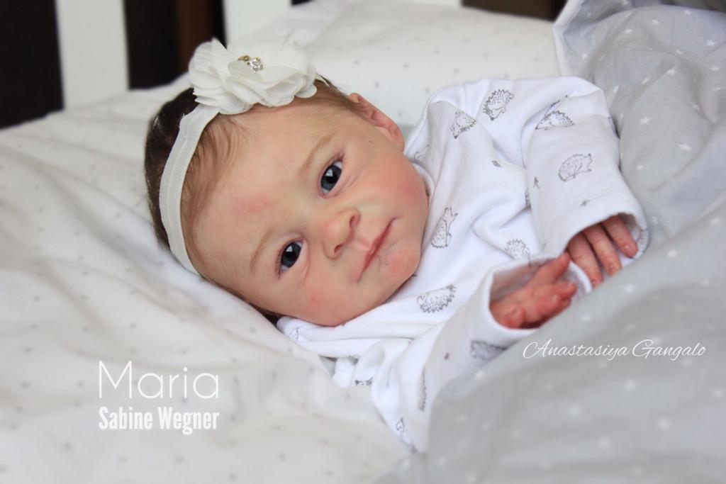 Maria Vinyl Doll Kit by Sabine Wegner Limited Edition 500 Kits World Wide