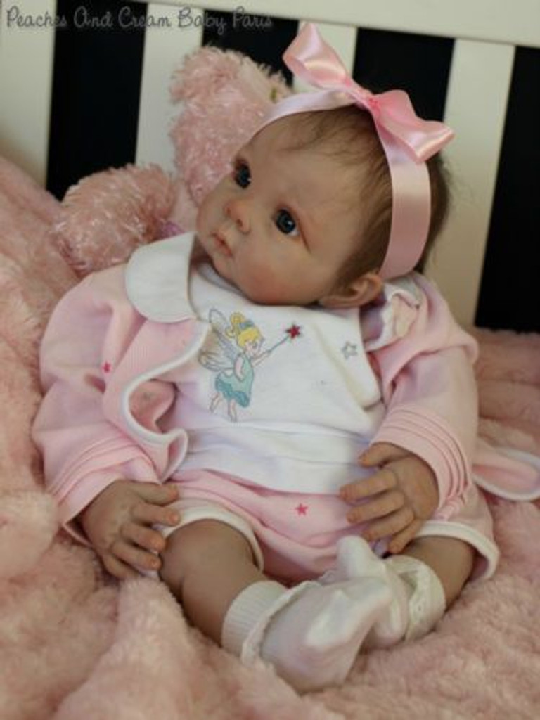 Chrissy Reborn Vinyl Doll Kit by Elly Knoops