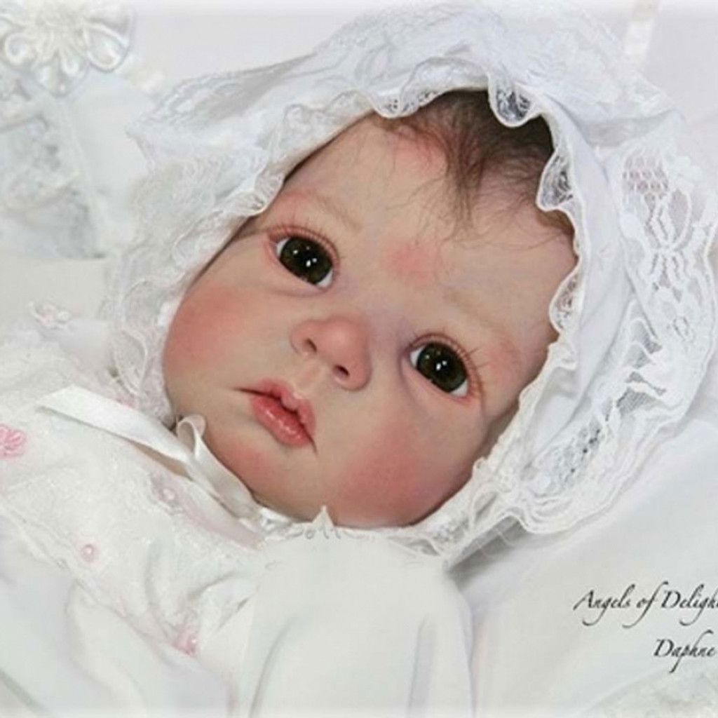 Daphne Reborn Vinyl Doll Kit by Elly Knoops