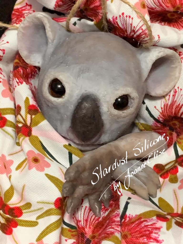 Blossom the Koala Joey by Joanne Elise Silicone Full Body Doll Kit Unpainted