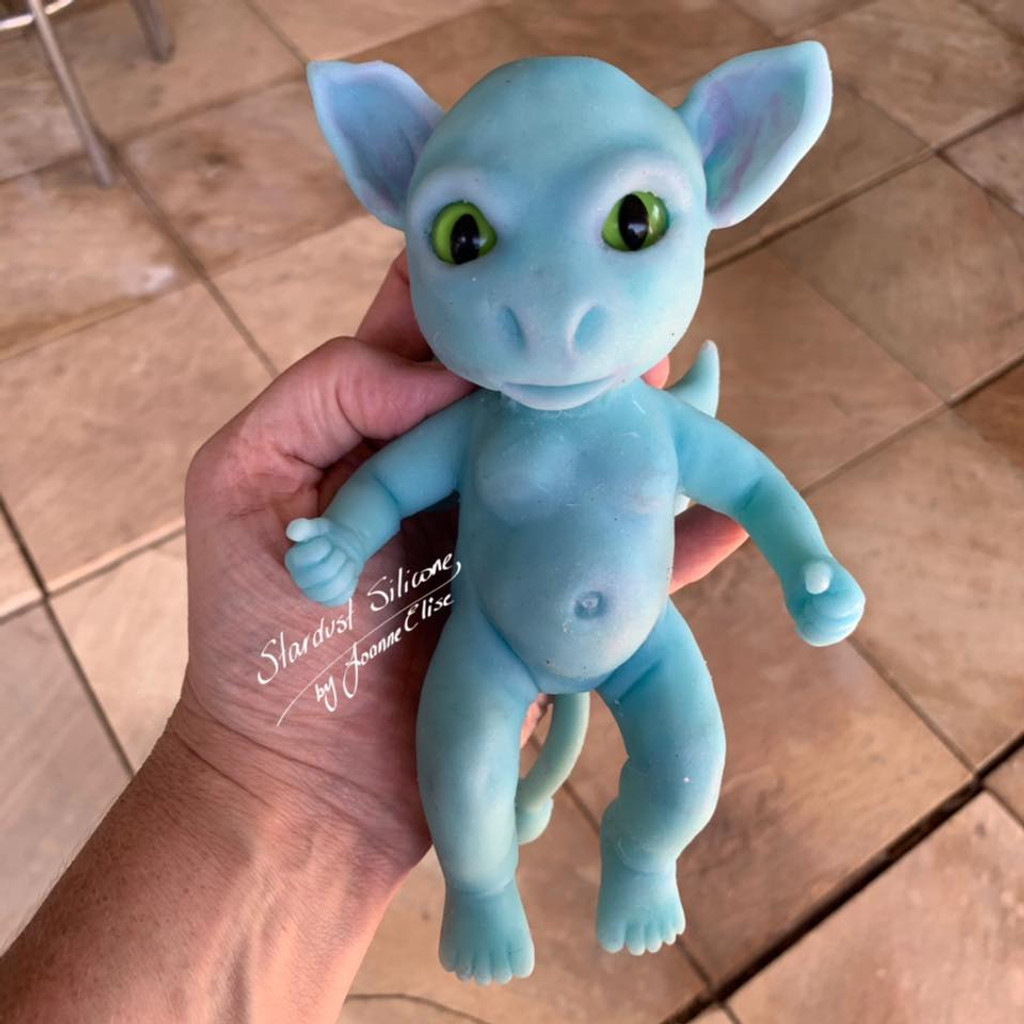 Arthur the Imp by Joanne Elise Silicone Full Body Doll Kit Unpainted