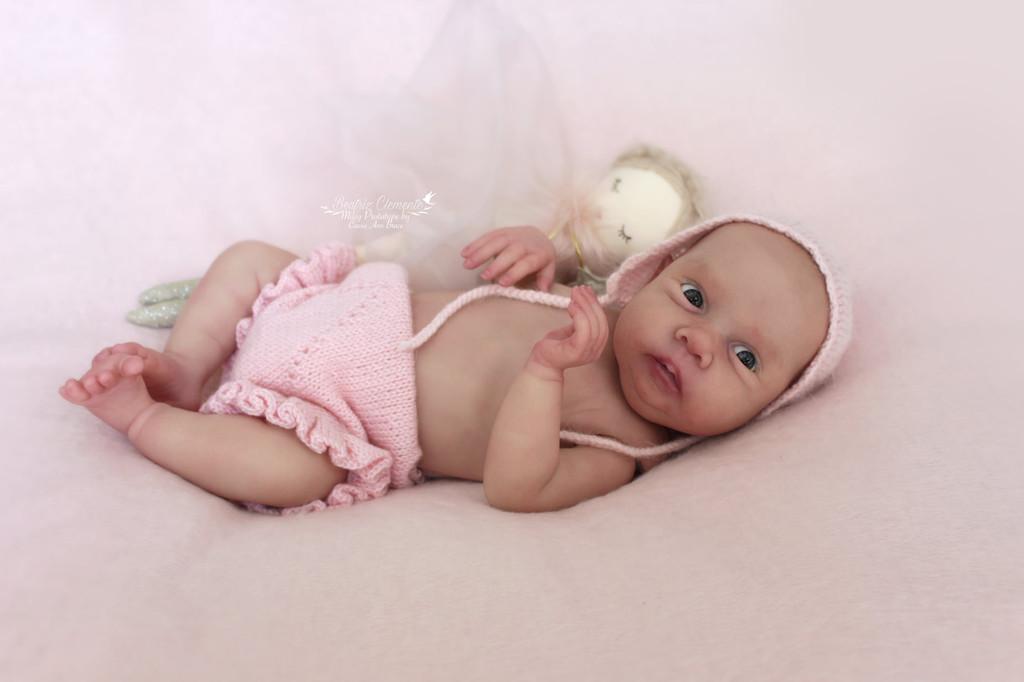 Miley  Reborn Vinyl Doll Kit by Cassie Brace