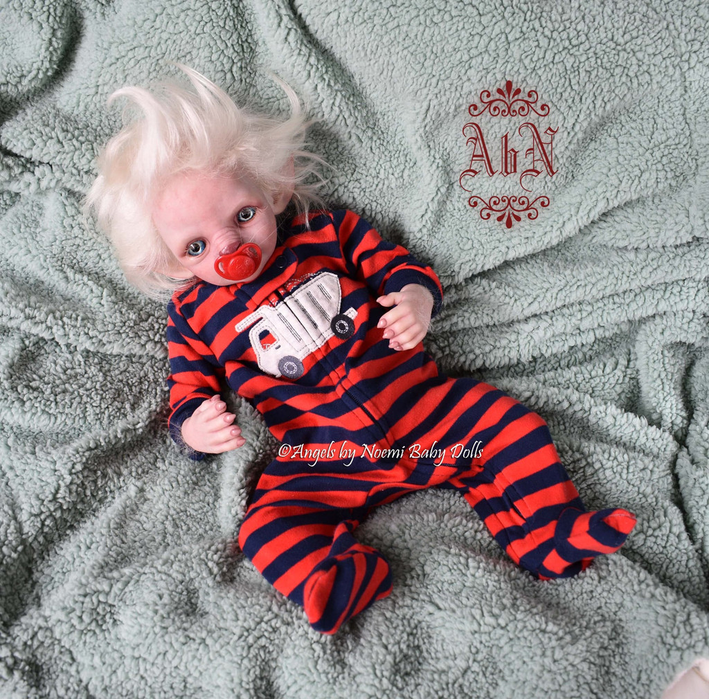 Alarick the Werewolf Reborn Vinyl Doll Kit by Noemi Smith