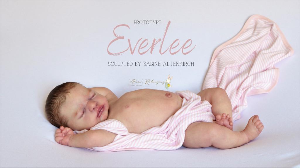 Everlee Reborn Vinyl Doll Kit by Sabine Altenkirch