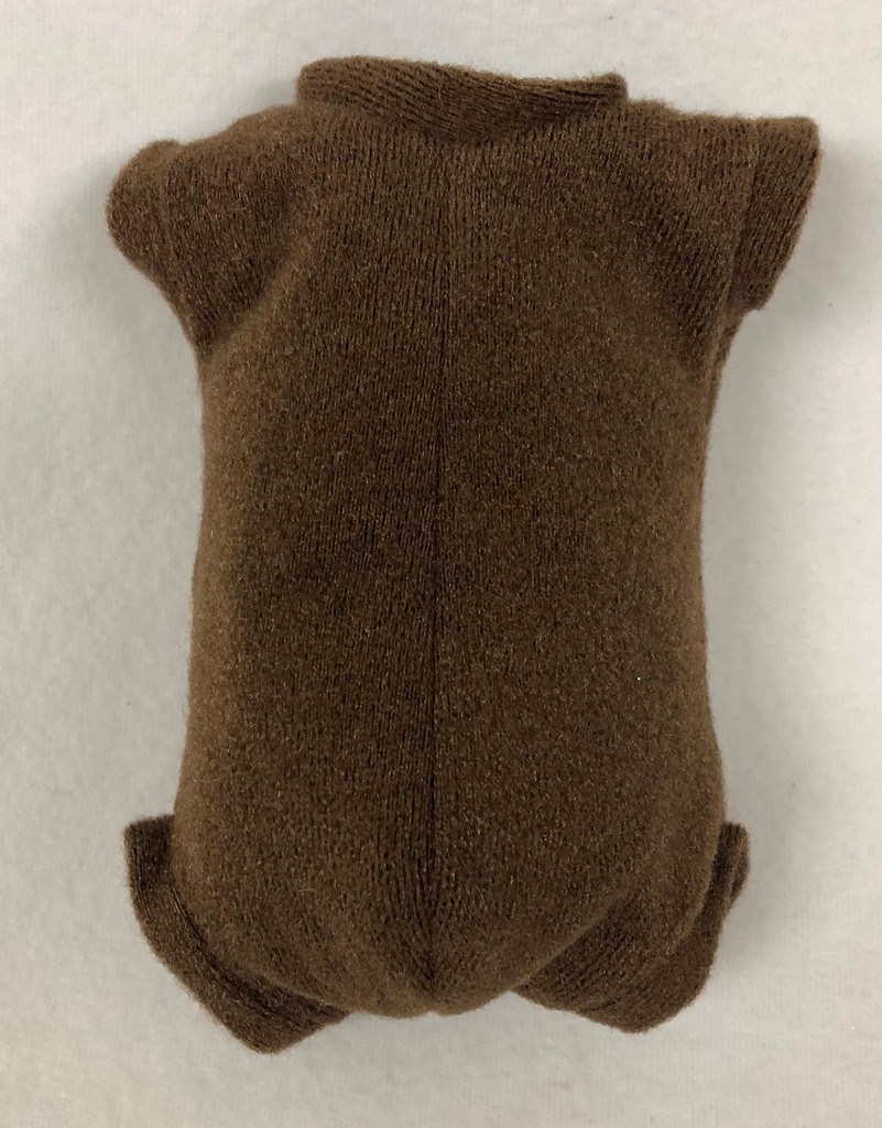 """Doe Suede Body for 19-21"""" Dolls Full Unjointed Arms Full Unjointed Legs #1272GE"""