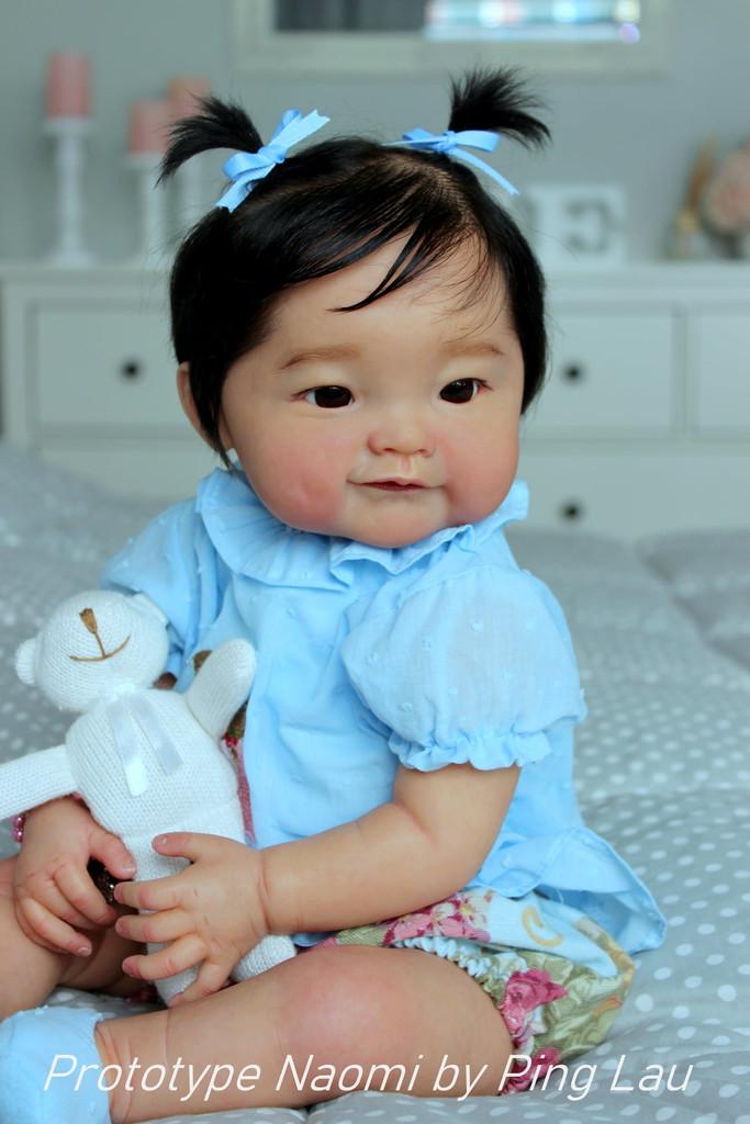 Naomi by Ping Lau Limited Edition Reborn Vinyl Doll Kit
