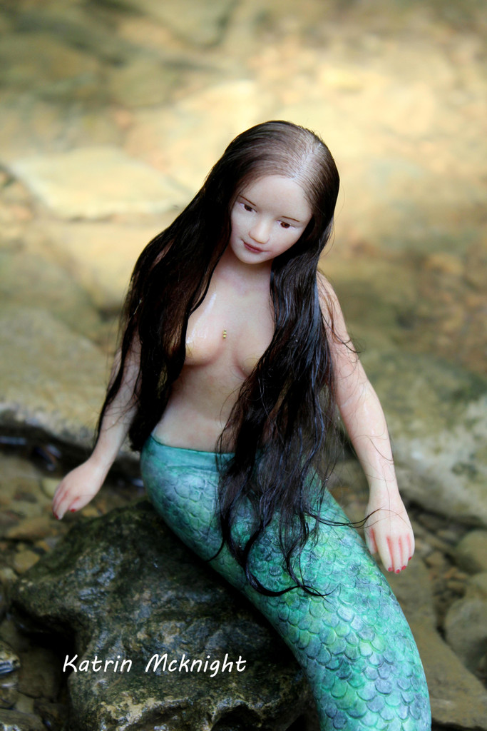 Lorelei and Lolo Reborn Vinyl Doll Kit by Ping Lau