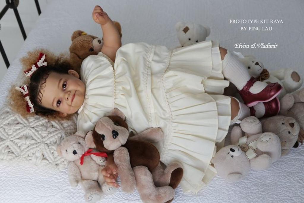 Raya Reborn Vinyl Doll Kit by Ping Lau