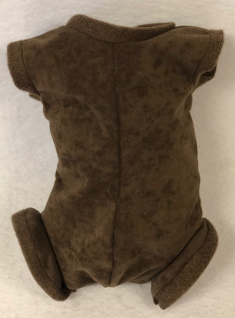 "German Doe Suede Body for 21-22"" Dolls Full Unjointed Arms Full Jointed Legs #1641GE"
