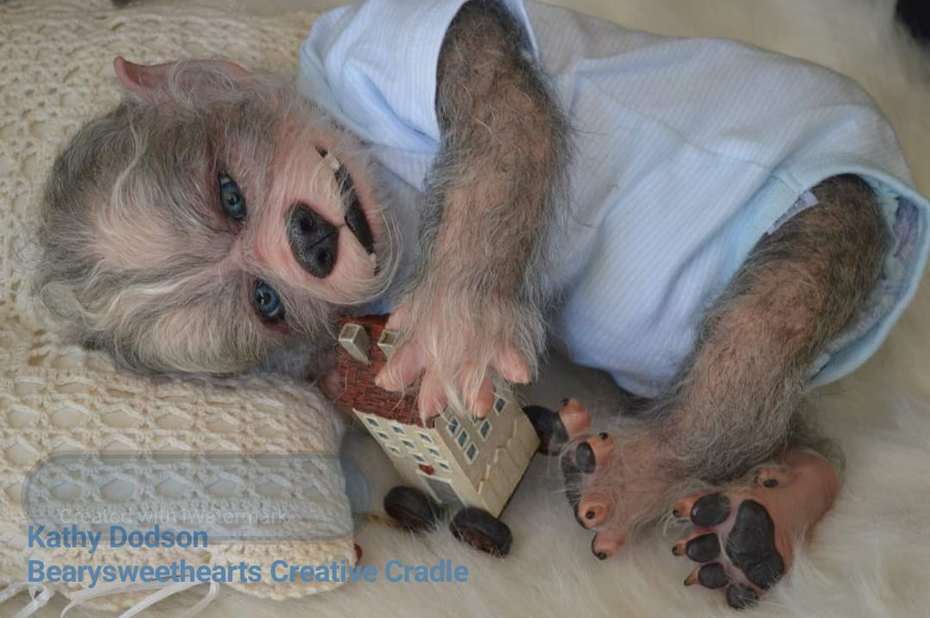 Robbie the Werewolf Reborn Vinyl Doll Kit by Asia Eriksen