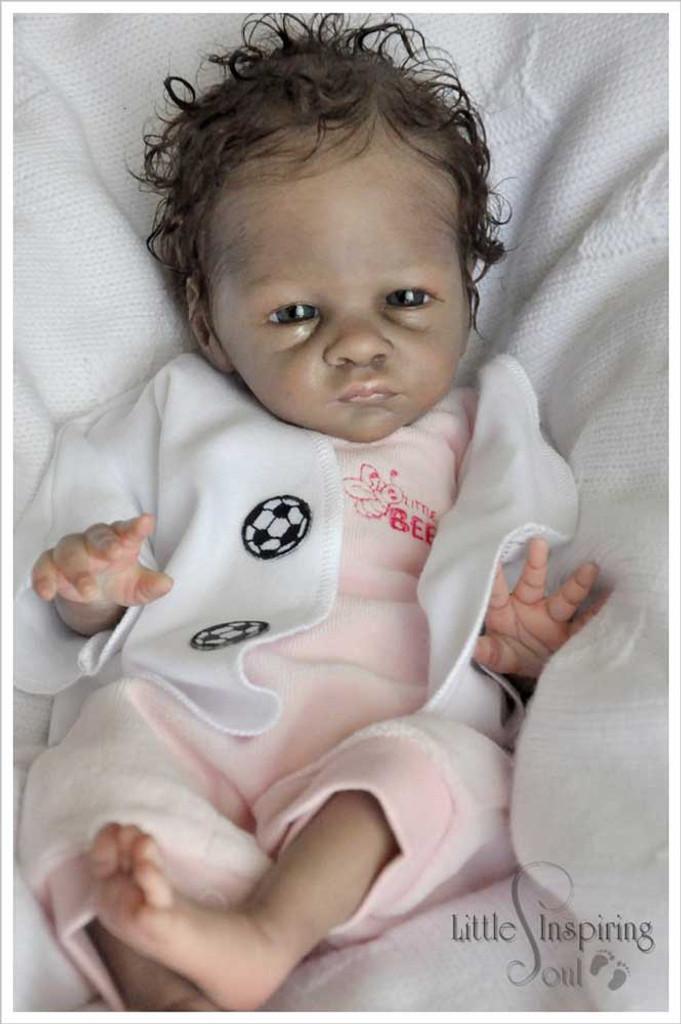 Buttercup Reborn Vinyl Doll Kit by Bonnie Brown