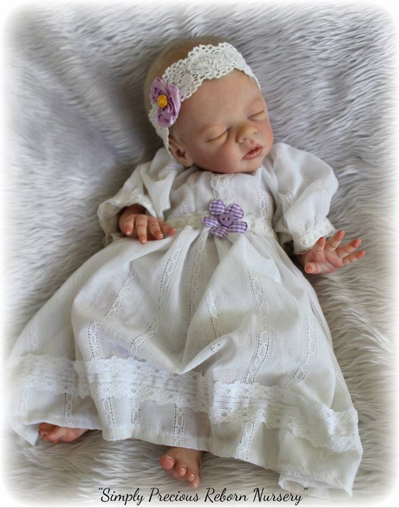 Daisy Reborn Vinyl Doll Kit by Bonnie Brown