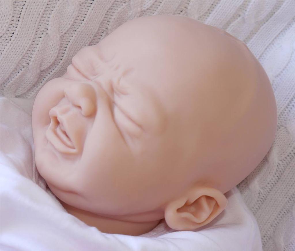Edwin Vinyl Doll Head by Elisa Marx - HEAD ONLY