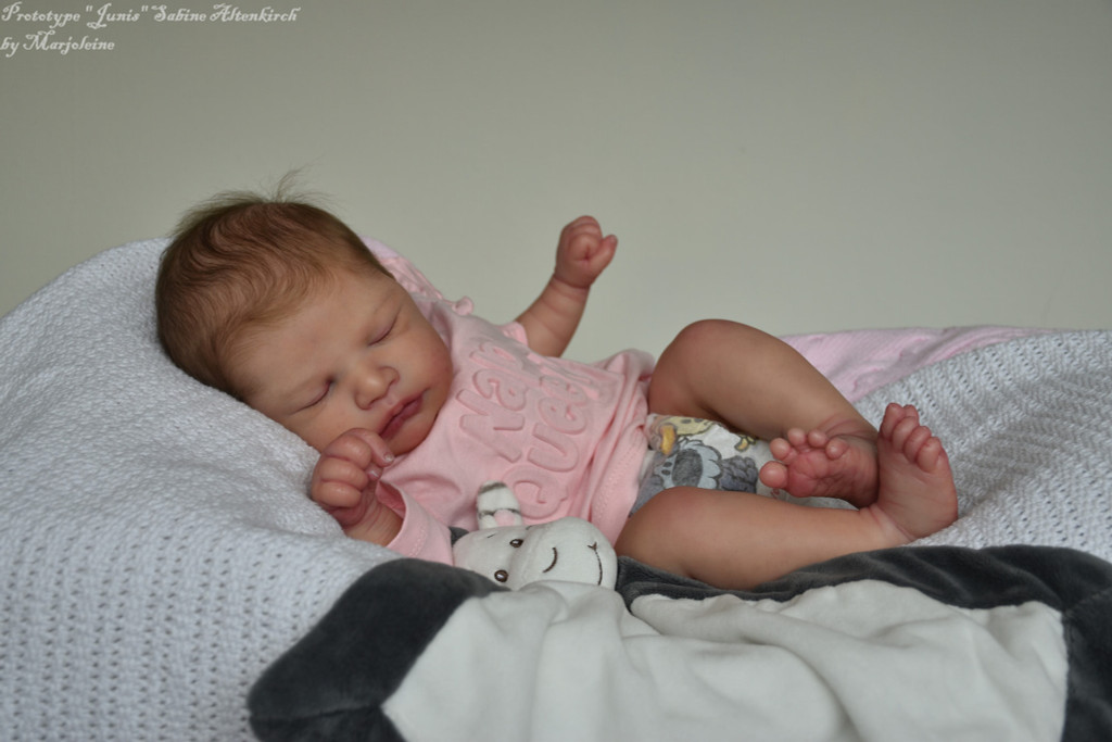 Junis Reborn Vinyl Doll Kit by Sabine Altenkirch
