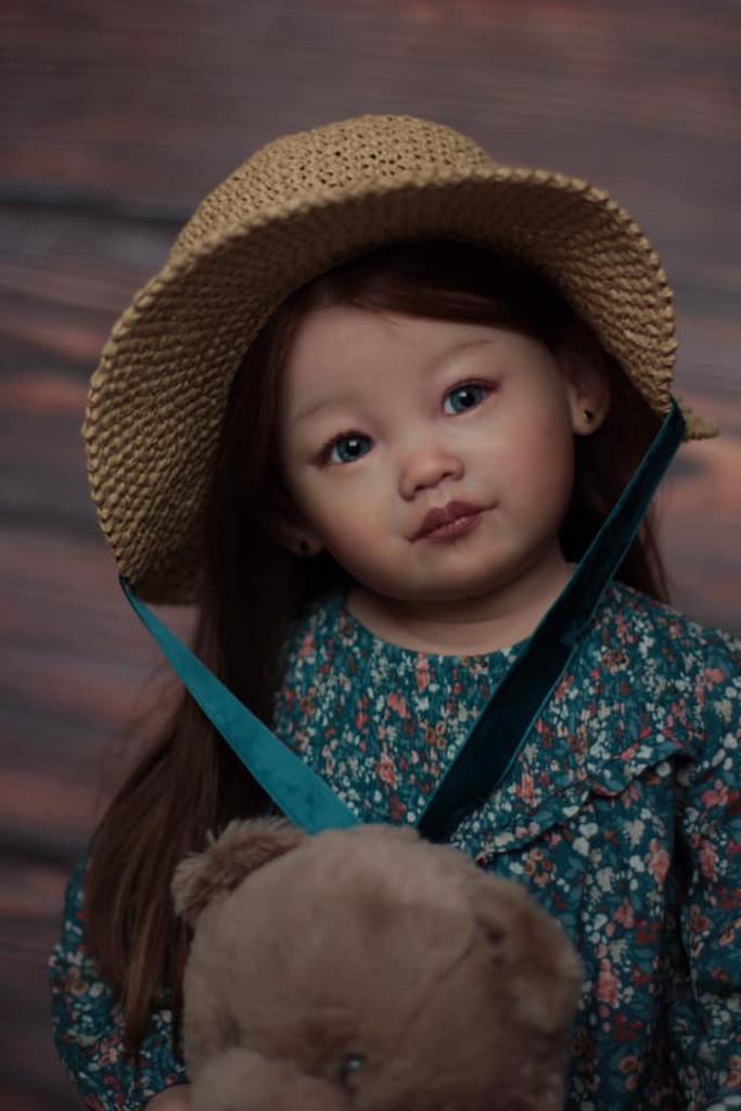 Leonie  Reborn Vinyl Toddler Doll Kit by Ping Lau