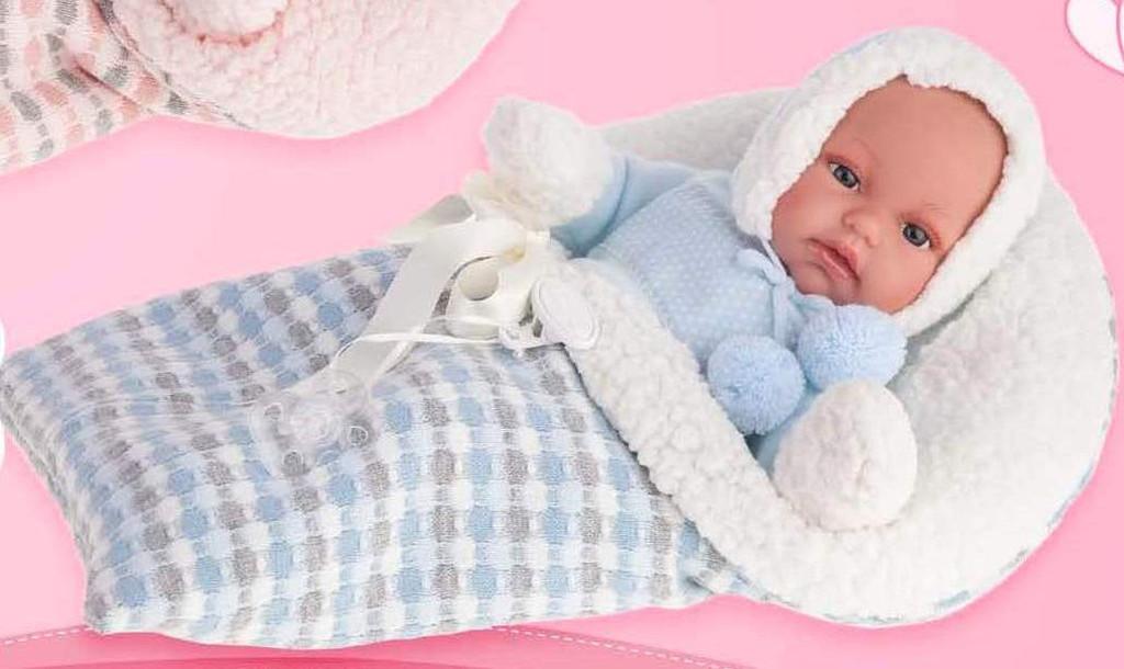 Antonio Juan Baby Doll toners saco 7024 - Blue