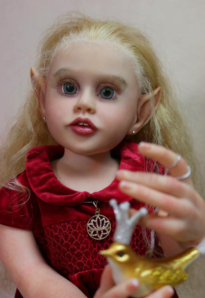 Theona Reborn Vinyl Doll Kit by Olga Tschenskaja