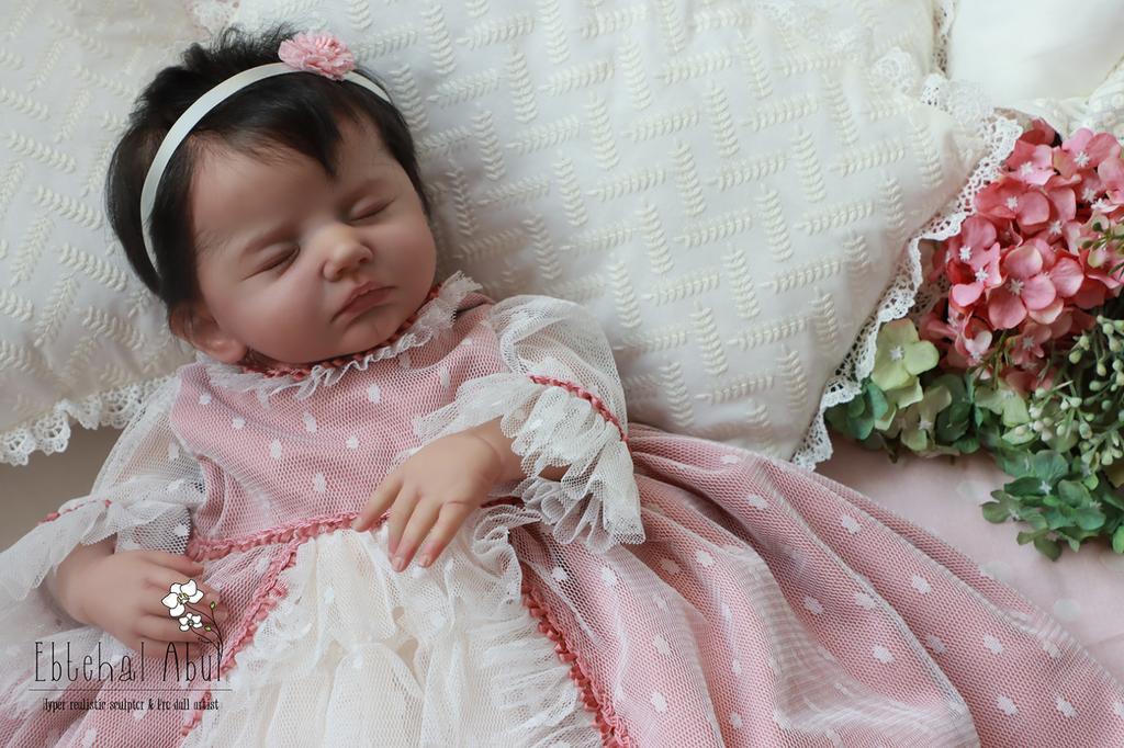 Sara Reborn Vinyl Doll by Ebtehal Abul