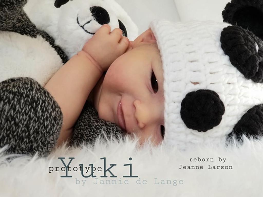 Yuki Reborn Vinyl Doll Kit by Jannie De Lange Great Value Price