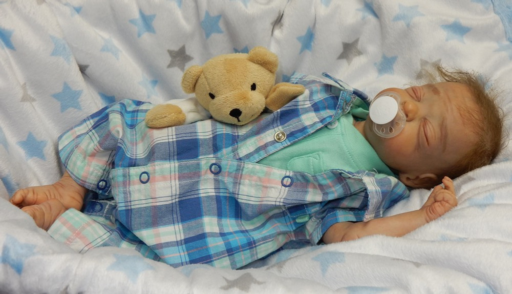 Sweet Cheeks Finished Reborn Collectors Doll Sculpted by Misty Hyndman