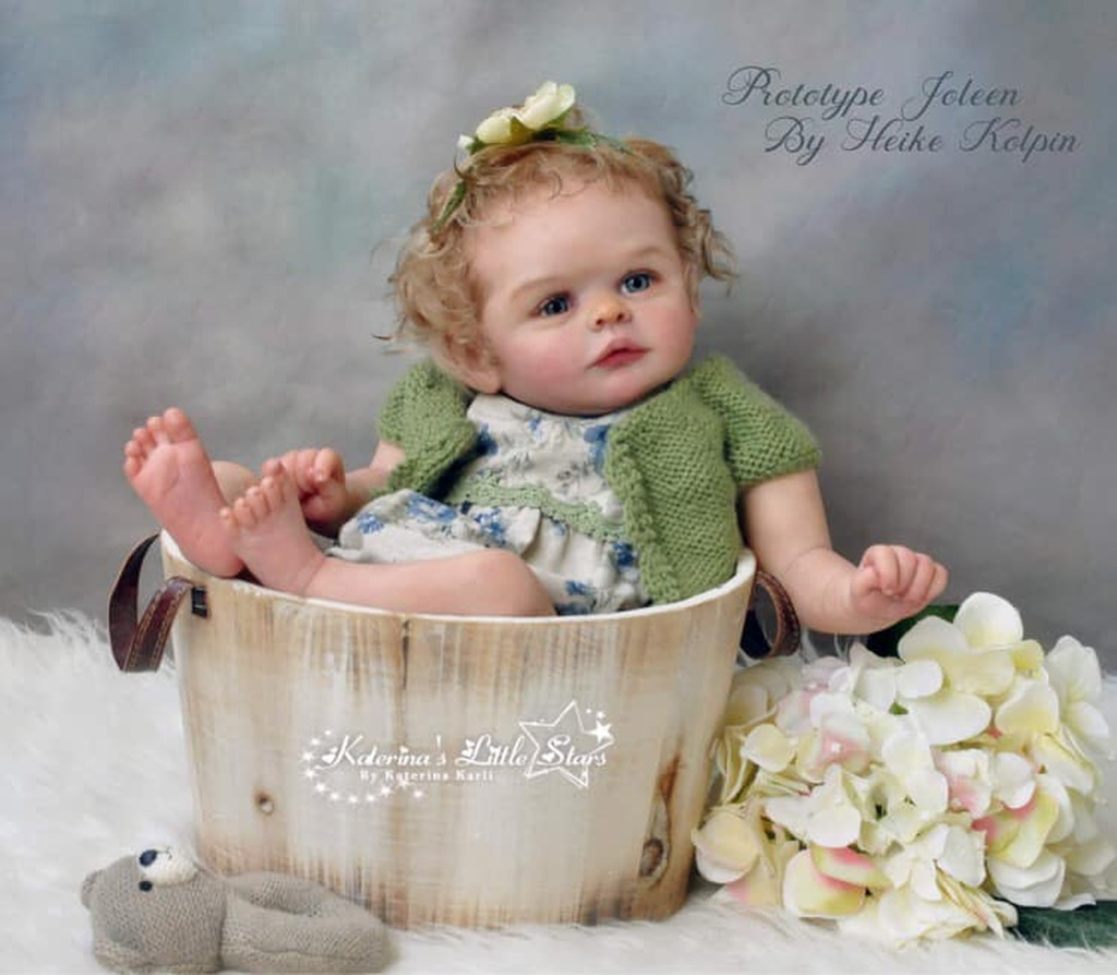 Joleen Reborn Vinyl Doll Kit by Heike Kolpin