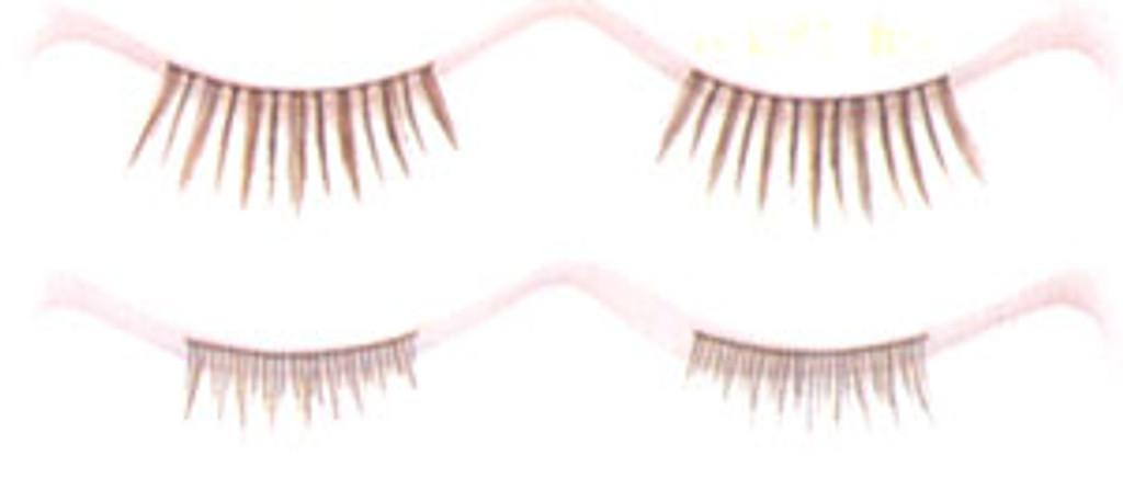 Double Eyelashes in Black