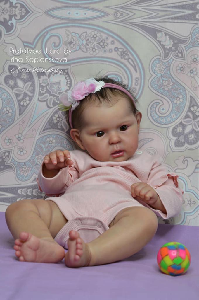 Ward Reborn Vinyl Doll Kit by Irina Kaplanskaya