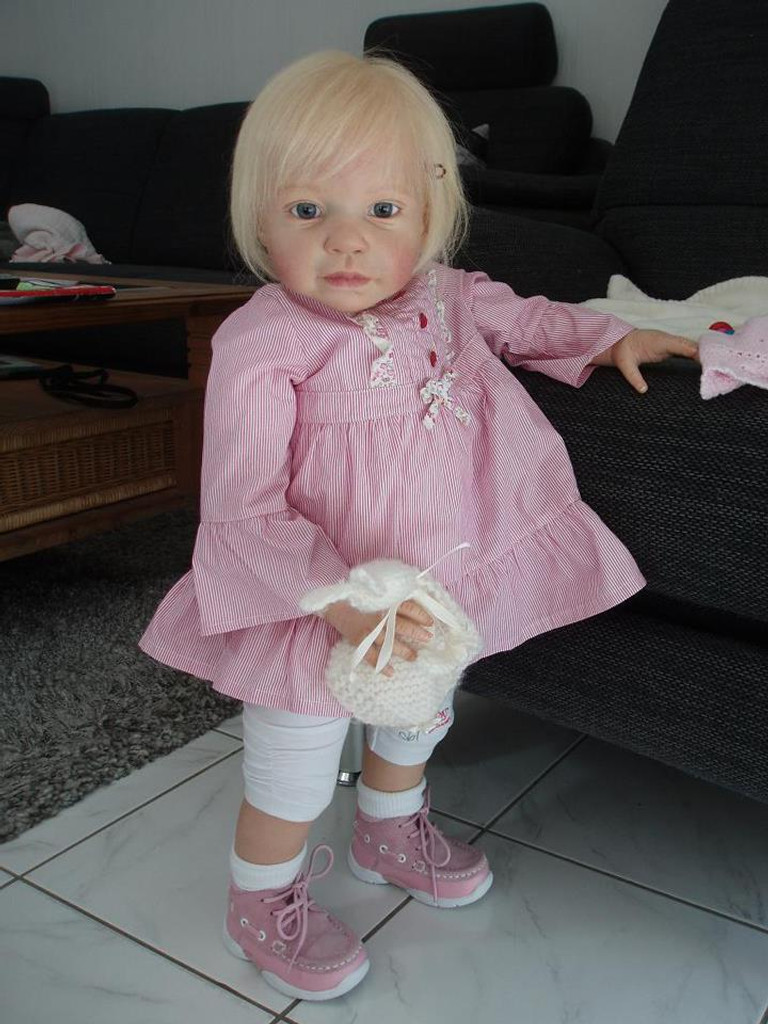 Andres Reborn Vinyl Doll Kit by Jannie De Lange