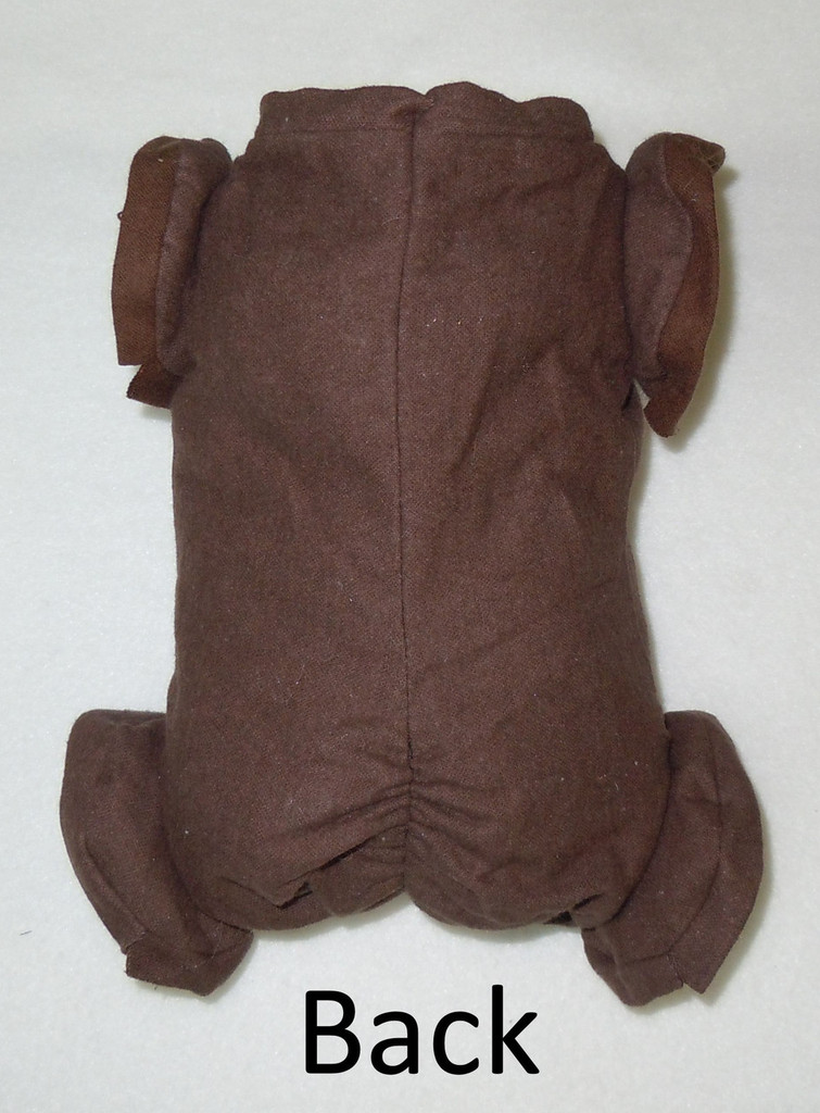 "German Doe Suede Ethnic Brown Body for 22-24"" Dolls Full Jointed Arms Full Jointed Legs #501GE"