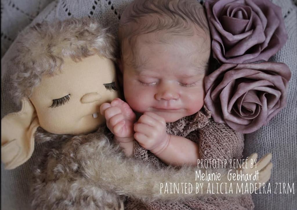 Renee Reborn Vinyl Doll Kit by Melanie Gebhardt