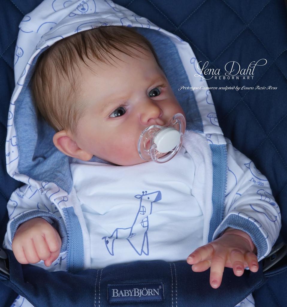 Cameron Reborn Vinyl Doll Kit by Laura Tuzio Ross