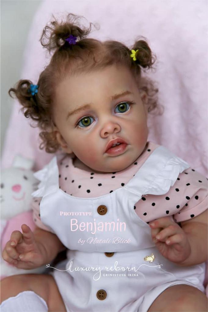 Benjamin Limited Edition  Reborn Vinyl Doll Kit by Natali Blick