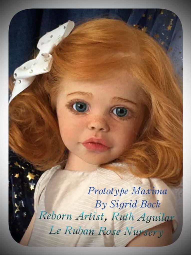 Maxima Reborn Vinyl Doll Kit by Sigrid Bock