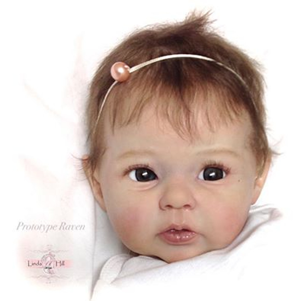 Raven Reborn Vinyl Doll Kit by Ping Lau - Limited 1st Edition