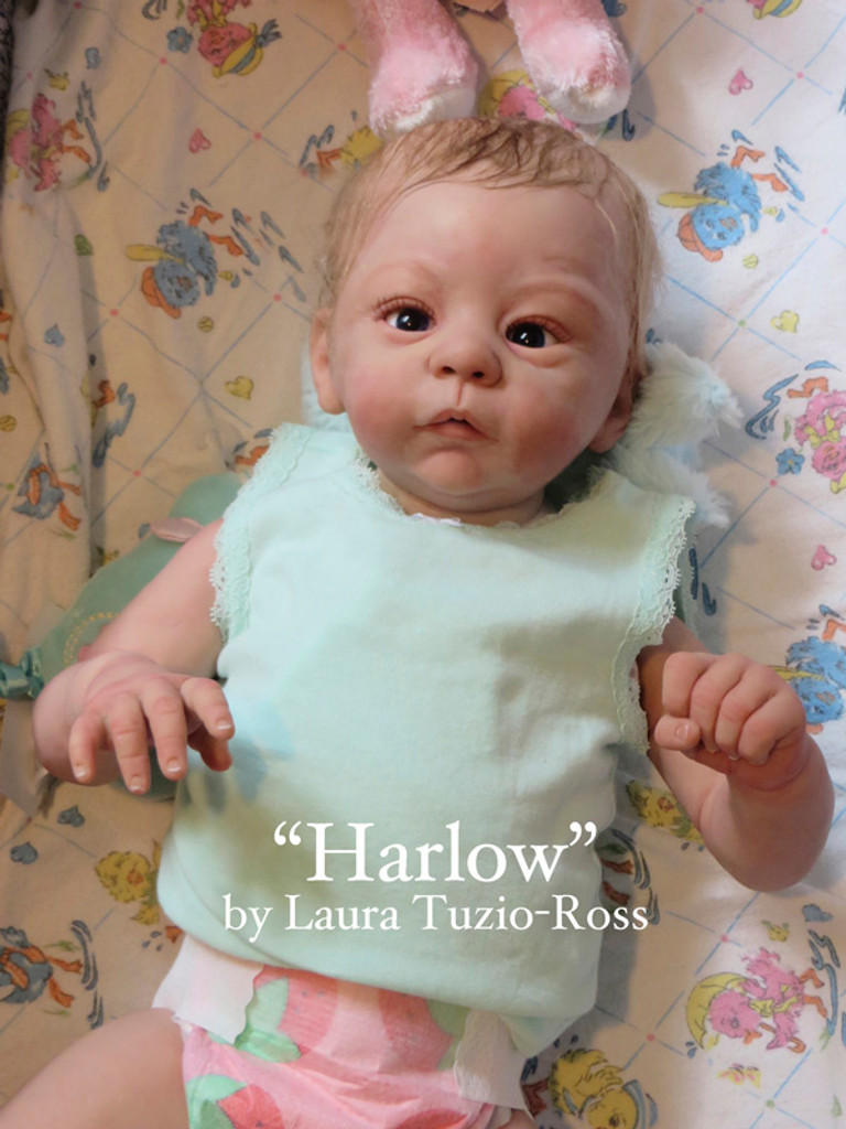 Harlow Reborn Vinyl Doll Kit by Laura Tuzio Ross