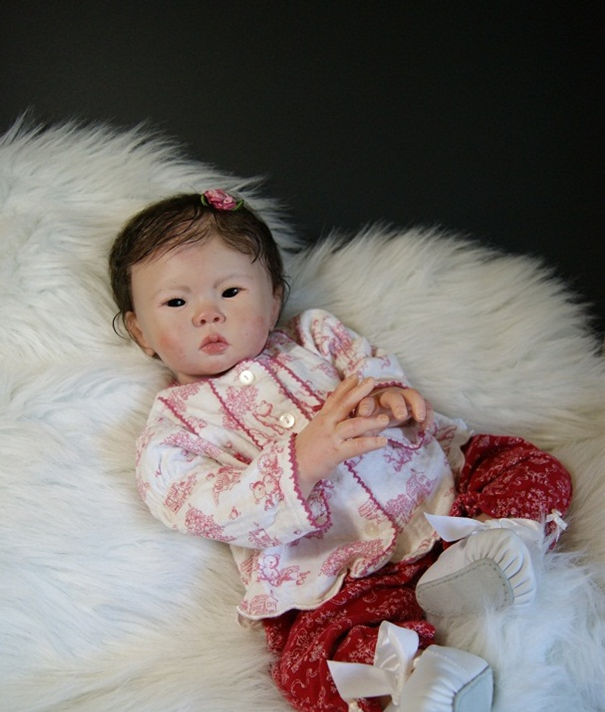 Mae Reborn Vinyl Doll Kit by Sandy Faber
