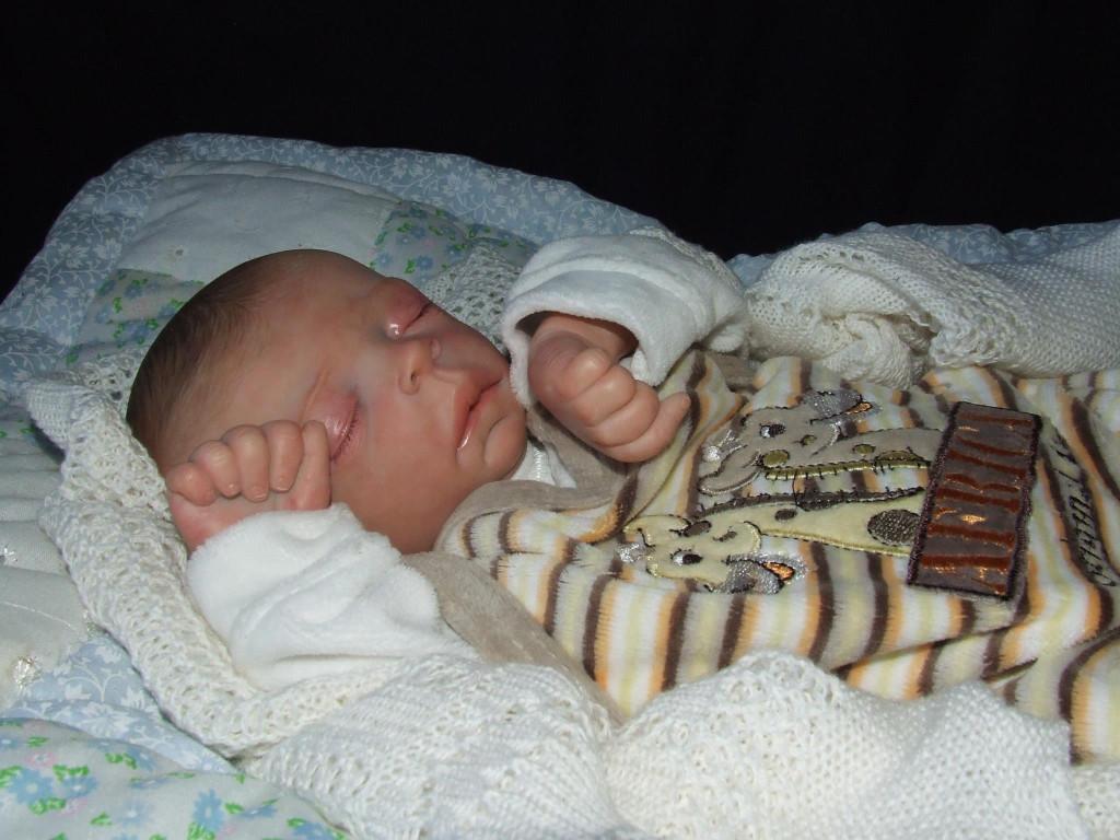 Ronnie Premie Vinyl Reborn Doll Kit by Ruth Annette