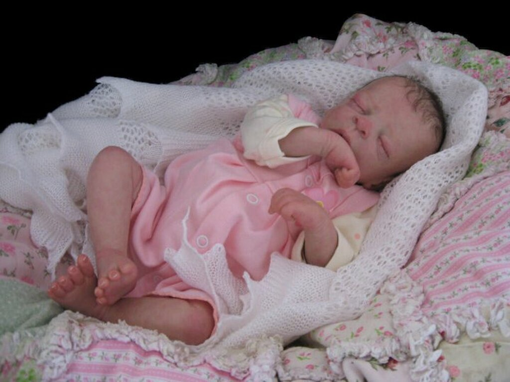 First Love Premie Vinyl Reborn Doll Kit by Ruth Annette