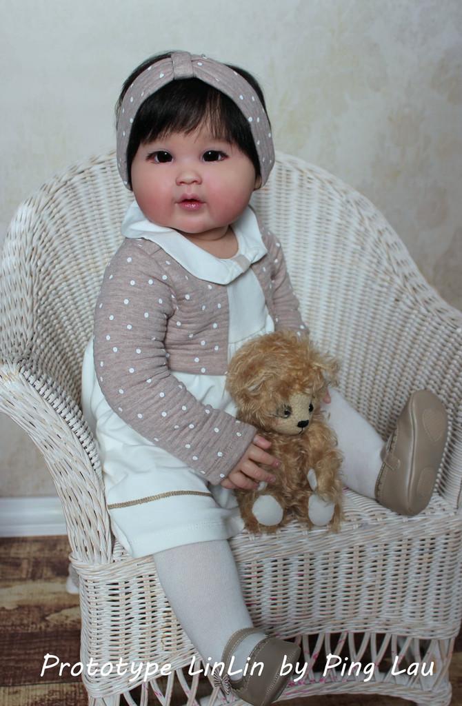 LinLin Reborn Vinyl Toddler Doll Kit by Ping Lau