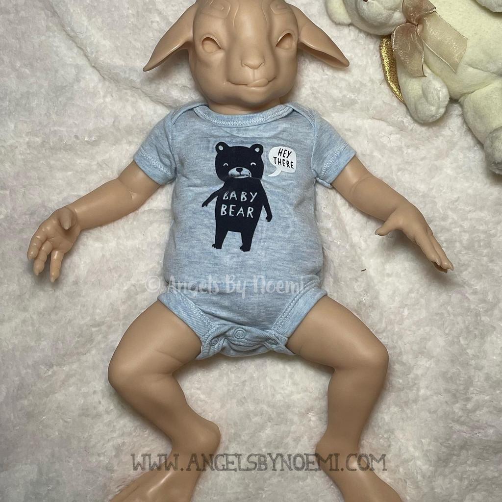Farnus the Satyr (Goat) Reborn Vinyl Doll Kit by Noemi Smith