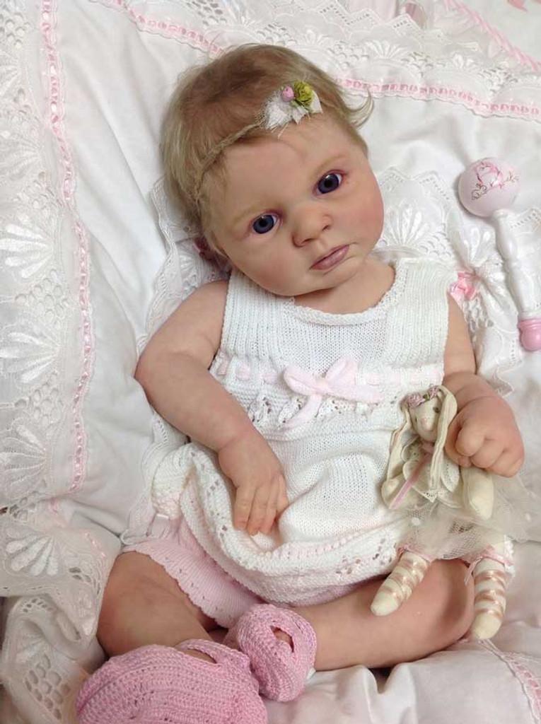 Indra Awake Reborn Vinyl Doll Kit by Reva Schick