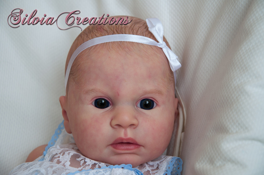 Indra Awake Reborn Vinyl Doll Kit by Reva Schick