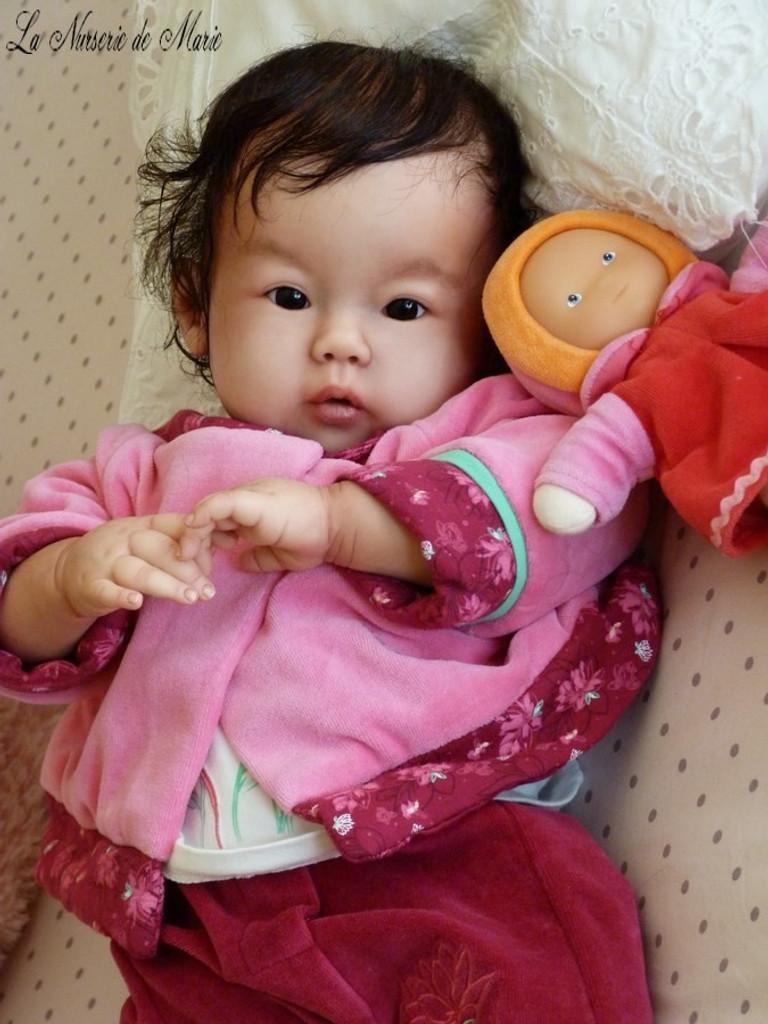 Kana Reborn Vinyl Doll Kit by Ping Lau