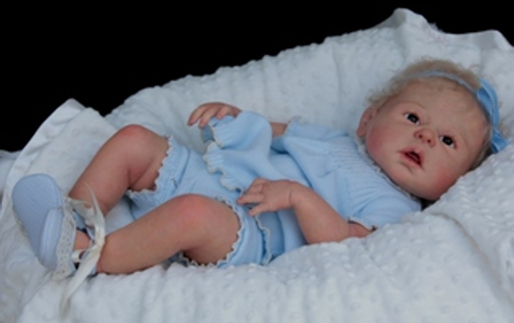 Dakota Reborn Vinyl Doll Kit by Sheila Michael
